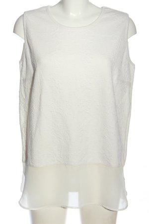 Amy Vermont Bluzka z krótkim rękawem biały W stylu casual