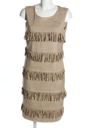 Amy Vermont Sukienka z krótkim rękawem w kolorze białej wełny W stylu casual