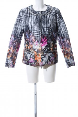 Amy Vermont Short Jacket flower pattern casual look