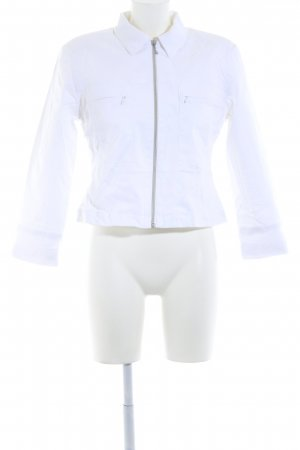 Amy Vermont Short Jacket white casual look