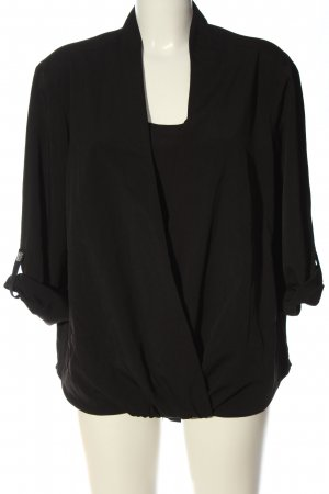 Amy Vermont Long Sleeve Blouse black casual look
