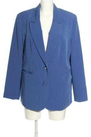 Amy Vermont Długa marynarka niebieski W stylu casual
