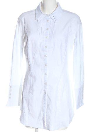 Amy Vermont Długa bluzka biały W stylu biznesowym
