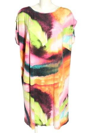Amy Vermont Długa bluzka Abstrakcyjny wzór W stylu casual