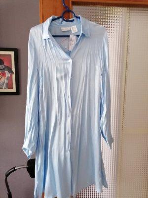 Amy Vermont Długa bluzka błękitny