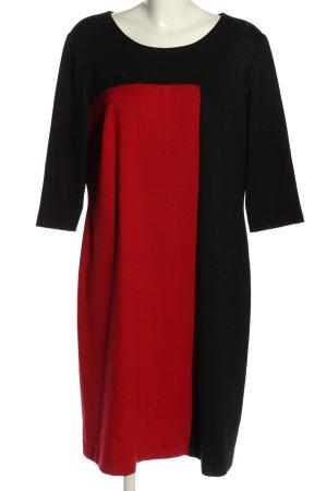 Amy Vermont Blusenkleid schwarz-rot Business-Look