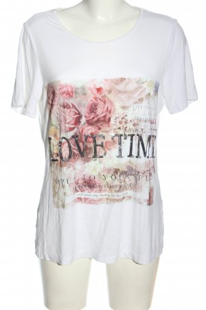 Amy Vermont Print-Shirt Motivdruck Casual-Look