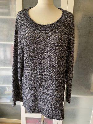 Amy Vermont Pullover a maglia grossa grigio-nero