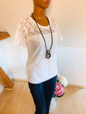 Amy Vermont shirt mit spitze Gr 36