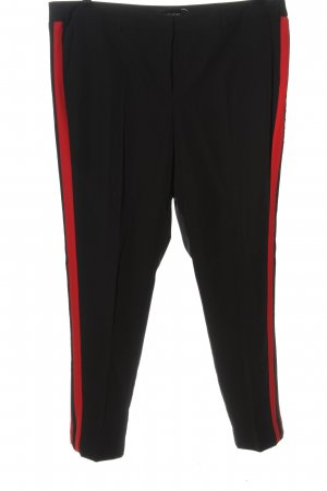 Amy Vermont Jersey Pants black-red casual look