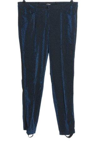 Amy Vermont Spodnie materiałowe niebieski Elegancki