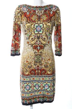 Amy Vermont Sukienka ze stretchu Wielokolorowy Tkanina z mieszanych włókien