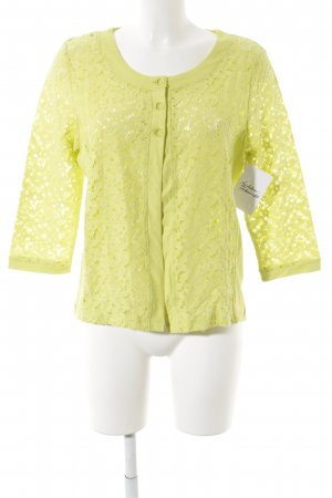 Amy Vermont Giacca in maglia giallo lime