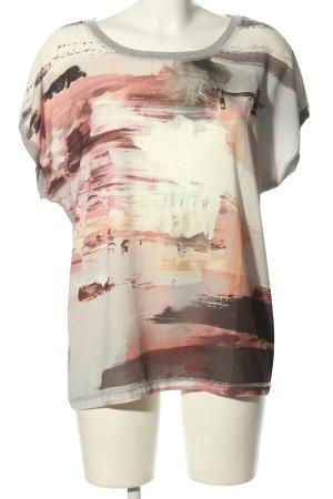 Amy Vermont T-shirt Melanżowy W stylu casual