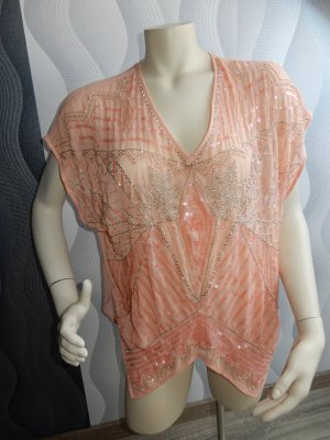 Amy Vermont Tunic Blouse apricot