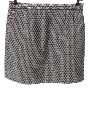 An'ge Mini rok blauw-wit volledige print casual uitstraling