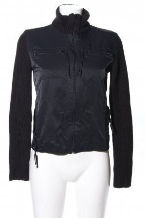 An'ge Outdoorjacke schwarz Casual-Look