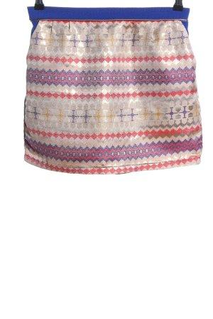 An'ge Spódnica mini Abstrakcyjny wzór W stylu casual