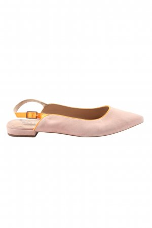 AN OTHER A Slingback ballerina's roze-licht Oranje casual uitstraling