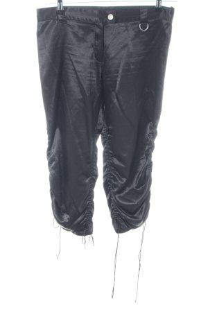 Ana Alcazar 3/4 Length Trousers black casual look