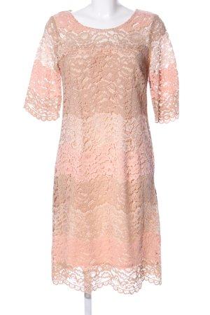 Ana Alcazar Abendkleid pink Blumenmuster Elegant