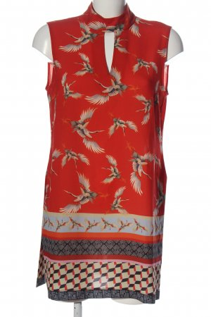 Ana Alcazar Sleeveless Blouse graphic pattern casual look
