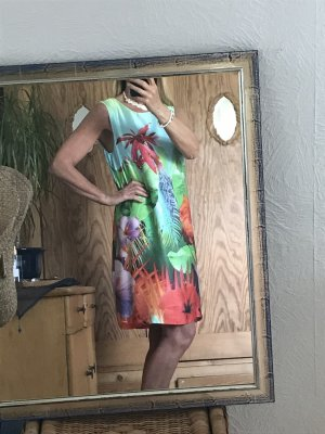 Ana Alcazar Vestido de baile multicolor Seda
