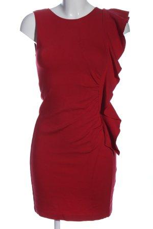Ana Alcazar Robe crayon rouge élégant