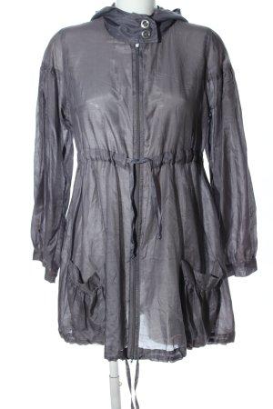 Ana Alcazar Blouse Jacket light grey casual look