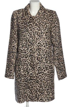 Ana Alcazar Krótki płaszcz w kolorze białej wełny-czarny W stylu casual