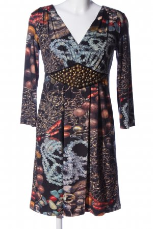 Ana Alcazar Empire Dress allover print casual look