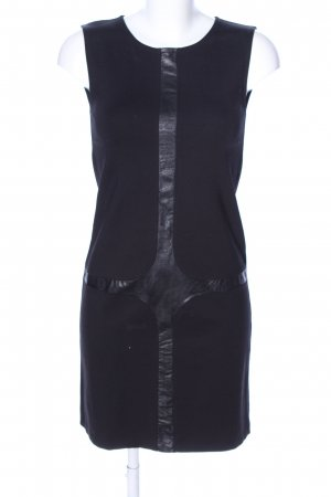 Ana Alcazar Robe fourreau noir style décontracté