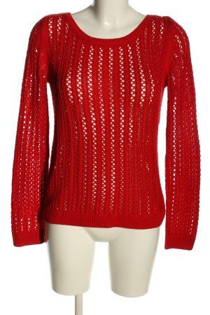 Ana Alcazar Szydełkowany sweter czerwony W stylu casual