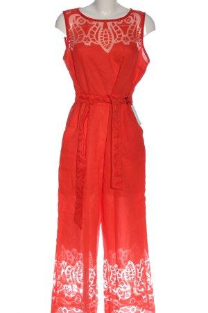 Ana Alcazar Tuta rosso stile casual