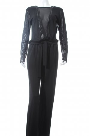 Ana Alcazar Jumpsuit schwarz Party-Look