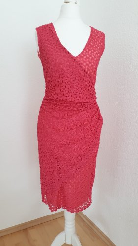 Ana Alcazar Knitted Dress bright red
