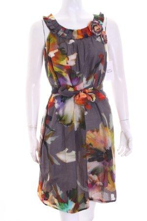 Ana Alcazar Sukienka Wielokolorowy Tkanina z mieszanych włókien
