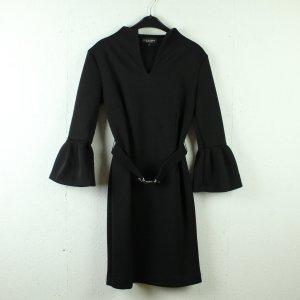 Ana Alcazar Robe mi-longue noir-argenté polyester