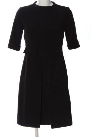 Ana Alcazar Vestido de manga corta negro estilo «business»