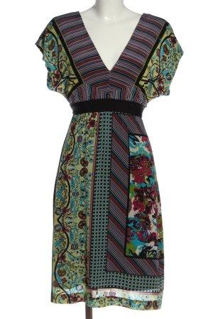 Ana Alcazar Sukienka z krótkim rękawem Na całej powierzchni Elegancki