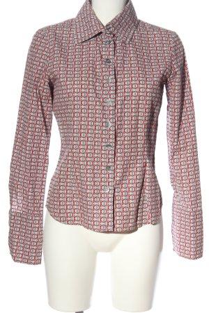 Ana Alcazar Camisa de manga larga estampado con diseño abstracto look casual