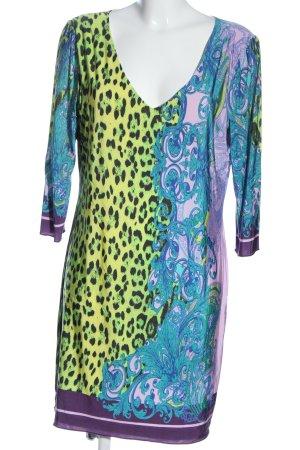 Ana Alcazar Robe à manches longues motif abstrait style décontracté
