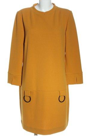 Ana Alcazar Robe à manches longues orange clair style décontracté