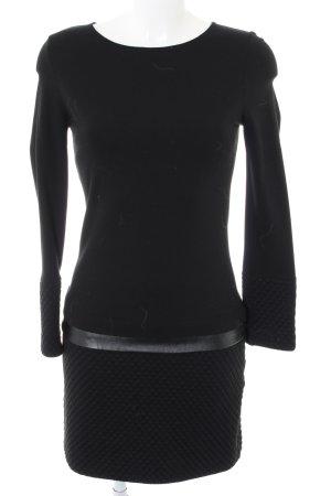 Ana Alcazar Robe à manches longues noir polyester