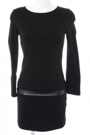 Ana Alcazar Robe à manches longues noir