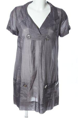 Ana Alcazar Long Blouse light grey casual look