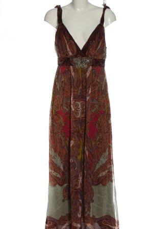 Ana Alcazar Vestido largo estampado repetido sobre toda la superficie elegante
