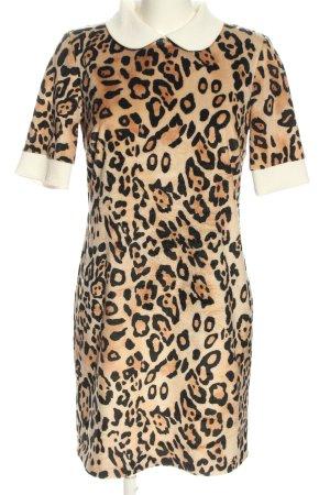 Ana Alcazar Robe courte motif léopard style décontracté