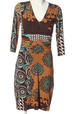 Ana Alcazar Midi-jurk abstract patroon casual uitstraling