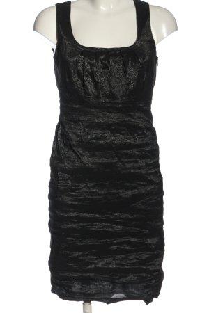 Ana Alcazar Mini-jurk zwart gestippeld elegant